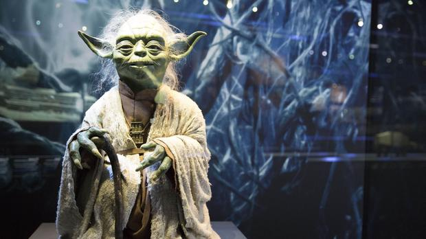 Yoda goes on display at STAR WARS Identities: The Exhibition at The O2 in London (Craig Gunn/PA)