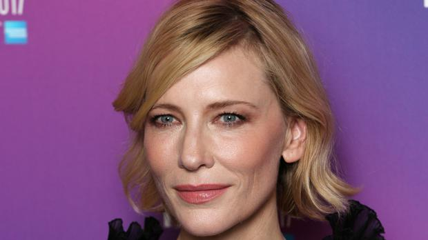 Cate Blanchett follows Pedro Almodovar, jury president of the 70th edition of the festival (Jonathan Brady/PA)