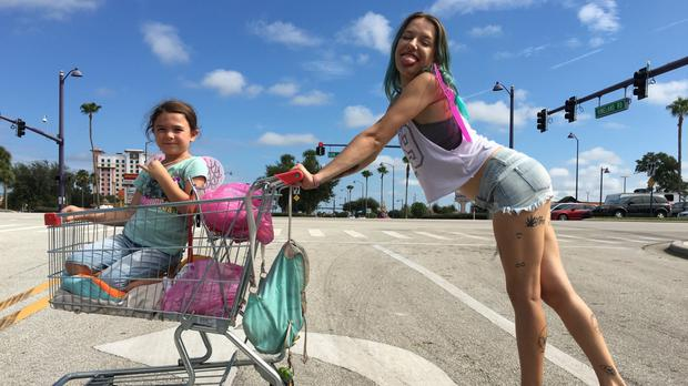 Gritty drama: The Florida Project