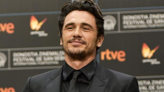James Franco was accused of sexually inappropriate behaviour