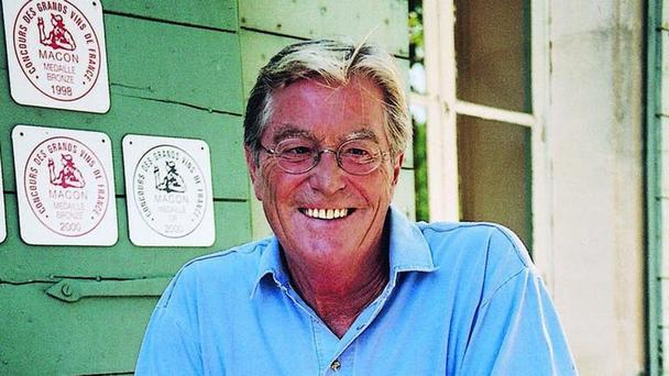 Author Peter Mayle (Alfred A Knopf/PA)