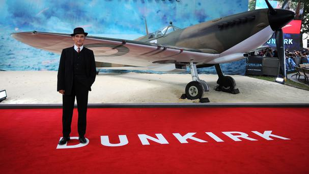 Mark Rylance at the world premiere of Dunkirk. (PA Images)