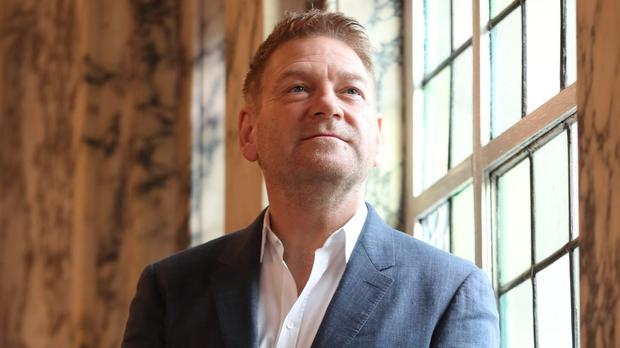 Sir Kenneth Branagh at Belfast City Hall. (Niall Carson/PA)