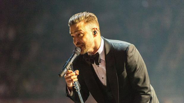 Justin Timberlake is said to have been working tirelessly on the 13-minute performance (Jonathan Pow/PA)