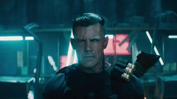 First look at Josh Brolin's Cable in Deadpool 2 trailer (Twitter grab/20th Century Fox/PA)