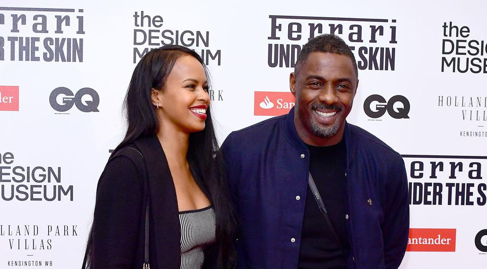 Sabrina Dhowre and Idris Elba (Ian West/PA)