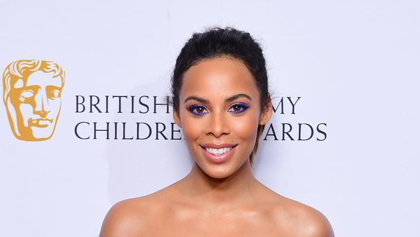 Rochelle Humes praised the Baftas for bringing in Joanna Lumley as host (Ian West/PA)