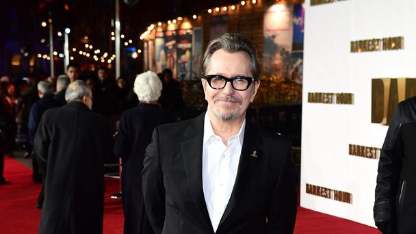 Gary Oldman is up for best actor at the Baftas (Ian West/PA)