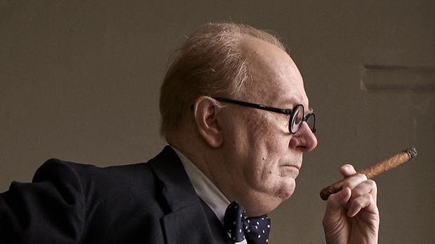 Gary Oldman as Winston Churchill in the film Darkest Hour (PA Images)