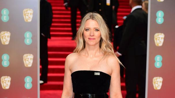 Edith Bowman attending the EE British Academy Film Awards