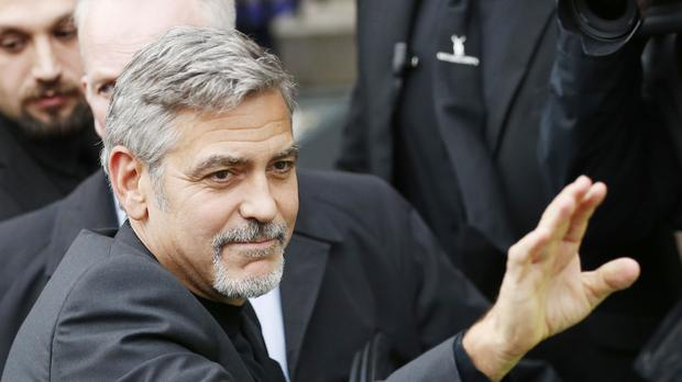 George Clooney (Danny Lawson/PA)
