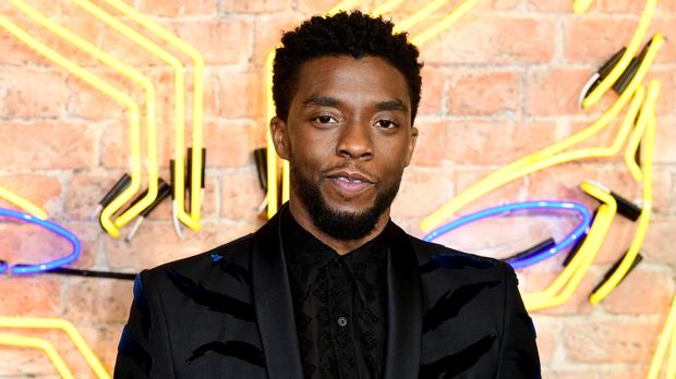 Chadwick Boseman surprised fans as they shared thanks for Black Panther (Ian West/PA)