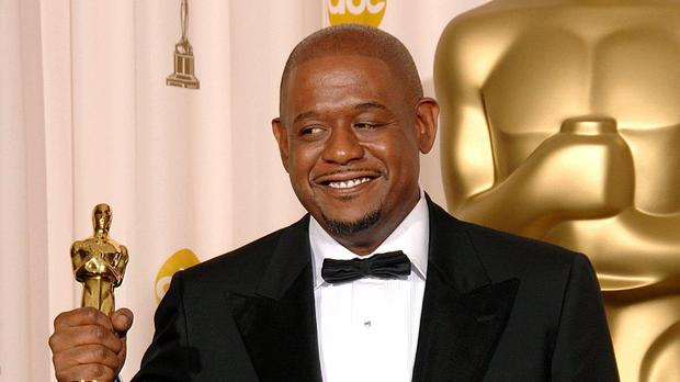 Forest Whitaker with the award for best actor at the Oscars in 2007. (PA Images)