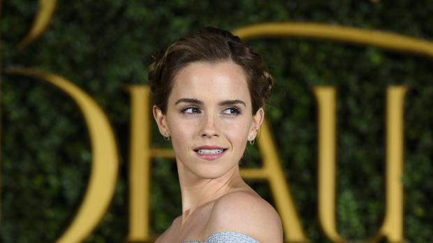 Emma Watson Debuts Huge Time S Up Tattoo Complete With Error