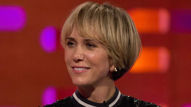 Kristen Wiig will play the villainous DC Comics character of Cheetah (Isabel Infantes/PA)