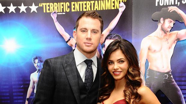 Channing Tatum and Jenna Dewan (Ian West/PA)
