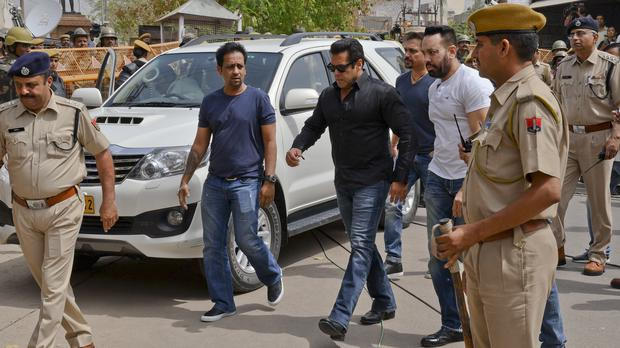 Bollywood actor Salman Khan jailed for five years for killing rare antelope