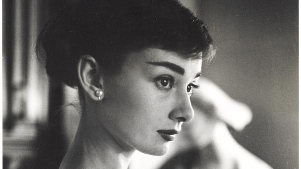 A portrait of Audrey Hepburn from 1956 going under-the-hammer, photographer unknown (Christie's Images Ltd 2018)