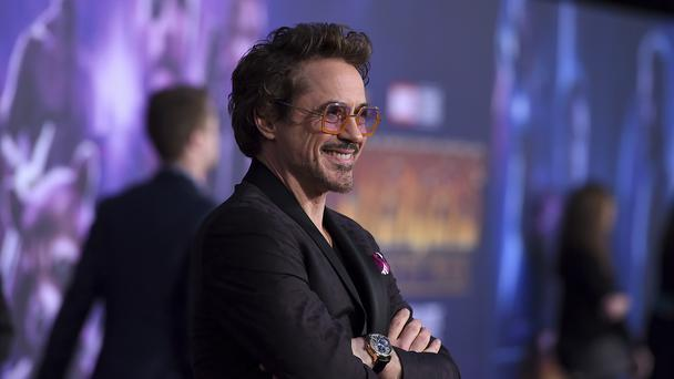 Robert Downey Jr arrives at the world premiere of Avengers: Infinity War (Jordan Strauss/Invision/AP)