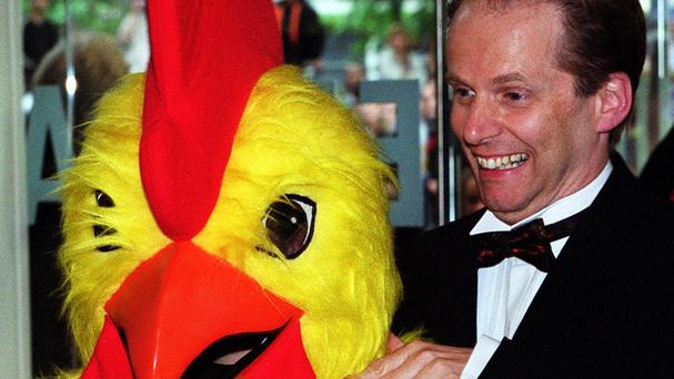 hicken Run co-creator Nick Park at the premiere of the movie (Peter Jordan/PA)