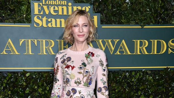 Cate Blanchett has appeared in a number of films produced by Harvey Weinstein (Matt Crossick/PA)