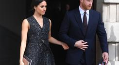 The build-up to Prince Harry and Meghan Markle's wedding has been marred by speculation surrounding Ms Markle's father's attendance (Victoria Jones/PA)