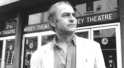 A national voice: Murphy, despite an early rejection, had a long-standing relationship with the Abbey Theatre