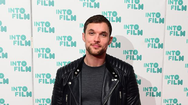 British actor Ed Skrein has revealed what it was like to work alongside Emily Ratajkowski in thriller In Darkness (Ian West/PA)