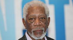 Morgan Freeman was also accused of making comments about women's clothing or bodies (Yui Mok/PA)