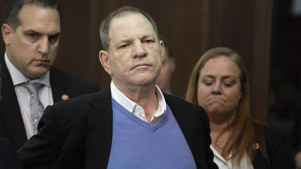 Harvey Weinstein (Steven Hirsch/New York Post via AP, Pool)