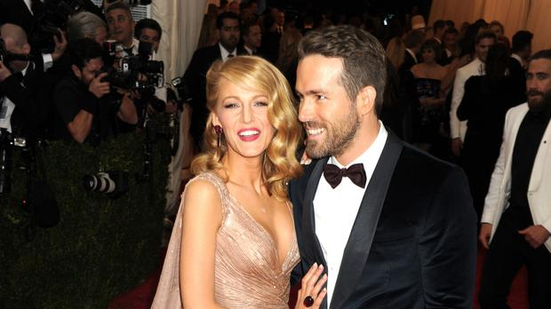 Blake Lively and Ryan Reynolds (Dennis Van Tine/PA)