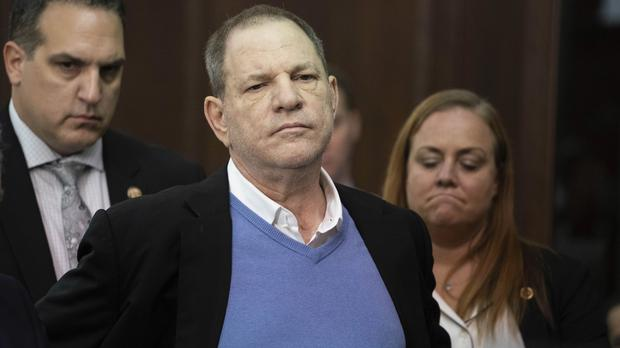 The film producer was charged last Friday on two counts of rape and one of a criminal sexual act for alleged incidents involving two separate women (Steven Hirsch/AP)