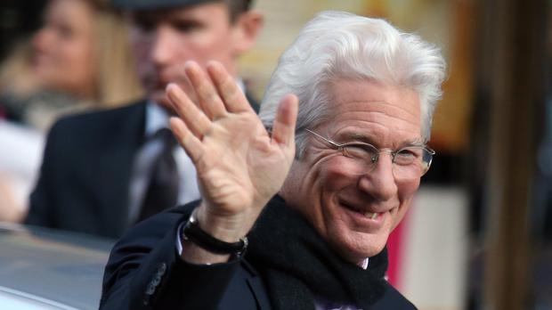 Richard Gere has spoken of his happiness (Andrew Milligan/PA)