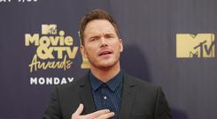 Chris Pratt offered fans life advice as he was honoured with the Generation Award (Francis Specker/PA Wire)