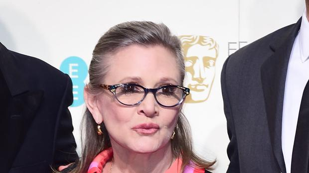 Carrie Fisher's brother hopes to see her make another appearance in the Star Wars franchise.(Ian West/PA)