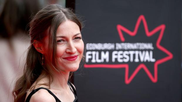 Actress Kelly Macdonald arrives on the red carpet (Jane Barlow/PA)