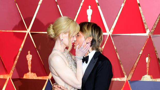 Nicole Kidman and Keith Urban (PA)