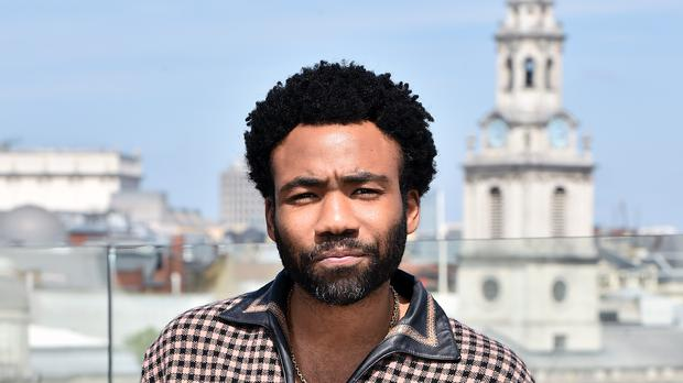 Donald Glover performed a mini version of his hit song This Is America on stage at the BET Awards (Matt Crossick/PA Wire)