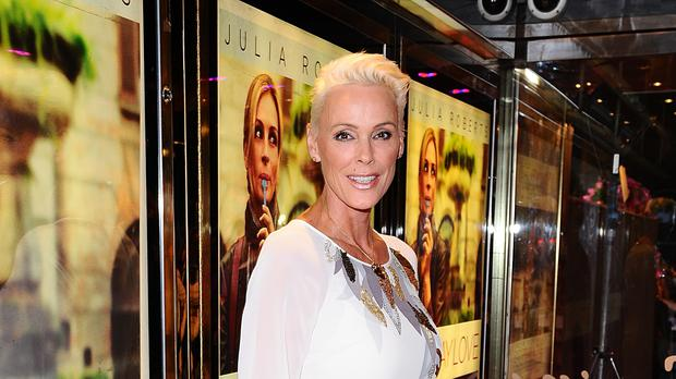 Brigitte Nielsen has shared the first picture of her newborn daughter (Ian West/PA)