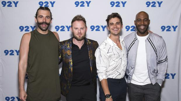 Queer Eye hosts Jonathan Van Ness, Bobby Berk, Antoni Porowski and Karamo Brown (Charles Sykes/Invision/AP)