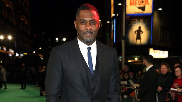 Idris Elba has joked he's ruined his chances of playing Bond (Jonathan Brady/PA)