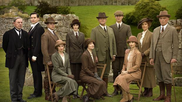 The cast of Downton Abbey (ITV)