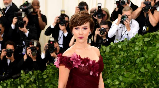 Scarlett Johansson had previously appeared to defend her decision to accept the part (Ian West/PA)