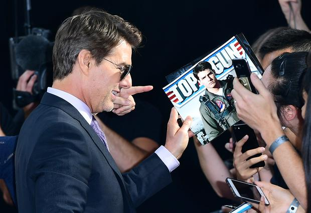 Tom Cruise At The Mission Impossible Fallout Premiere Ian West Pa