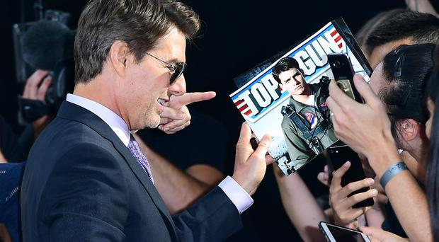Tom Cruise at the Mission: Impossible – Fallout premiere (Ian West/PA)