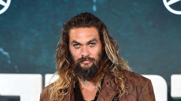 Jason Momoa stars in the trailer for the upcoming superhero movie Aquaman (Matt Crossick/PA Wire)