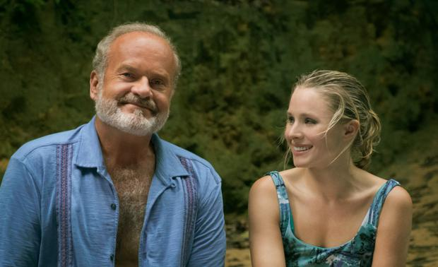 Kelsey Grammer and Kristen Bell star in Netflix drama Like Father (Emily Aragones/PA)