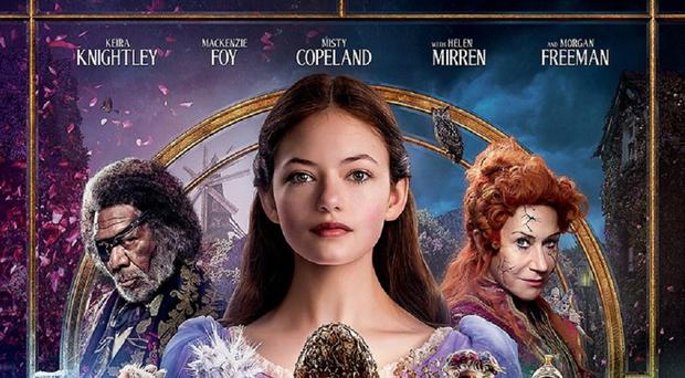 The poster for The Nutcracker And The Four Realms (Disney)
