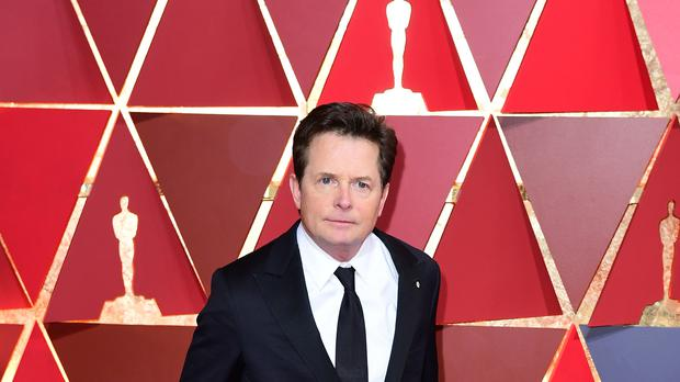 Michael J. Fox starred as Marty McFly (Ian West/PA)