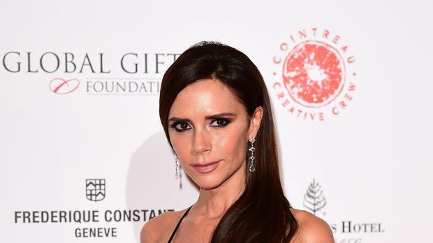 Victoria Beckham posted a video on her Instagram Stories of 1997's Spice World being played on a tablet (Ian West/PA)